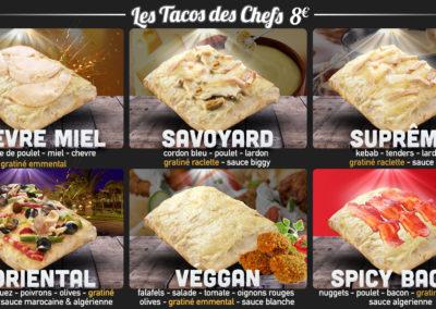 tacos des chefs